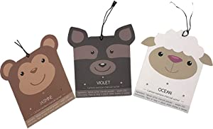 Scented Sachets Fresh Scents for Drawer and Closet Dressers Home Fragrance Animals Sachet 3 Packs