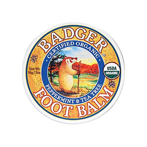 Badger Foot Balm - 2 oz Tin made in New England