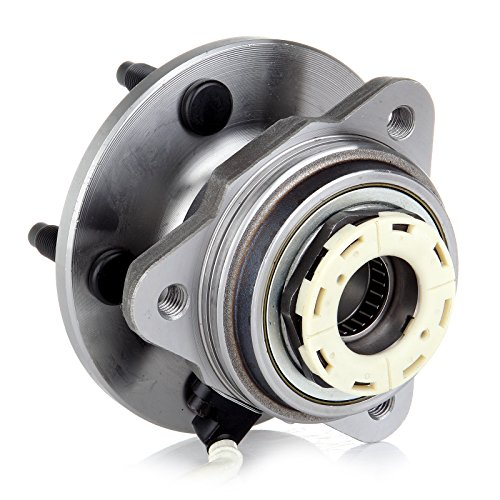 AUTOMUTO Wheel Hub Bearing, 515027 Front 5 Lugs with ABS Sensor Fit Ford Truck Ranger Pickup/Mazda Truck B3000 Pickup/Mazda Truck B4000 Pickup 1998-2000