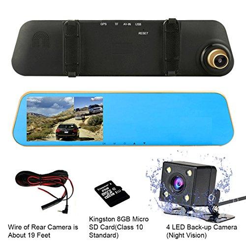 1080P HD Free WiFi Car DVR G-Sensor Camera Video Dash Cam Recorder - 4