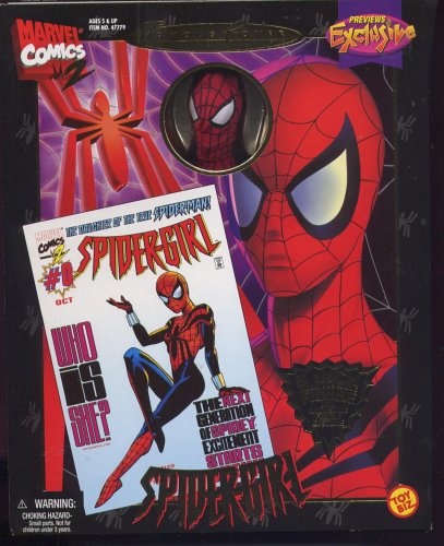 Marvel Action Figures Famous Covers (Previews Exclusive: Famous Cover Series:Spider-Girl, The Daughter of Spider-Man, 8
