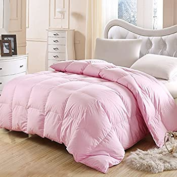 rose nature goose down and feather bed comforter quilt100 orangic cotton shell