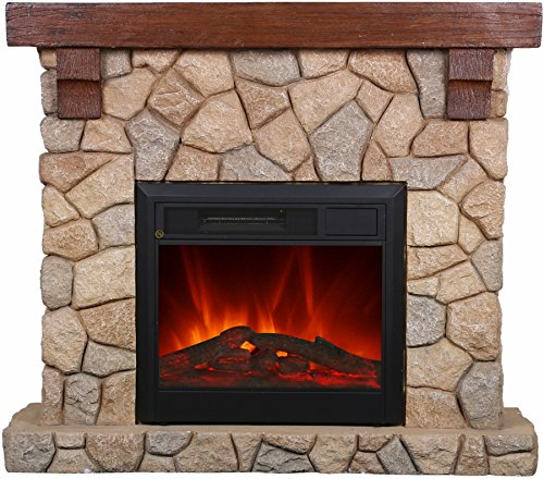 El Fuego Chimenea eléctrica con parecer auténtica Efecto Llama B, 1 pieza, Villach: Amazon.es: Bricolaje y herramientas