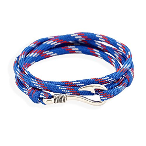 Dog Brother Leather Personalised Cloth Couple Stainless Steel Slap Relationship Ladies Military Unique Thread Cable Candy Guy Metal Fabric Chunky Bracelets for Sale ()