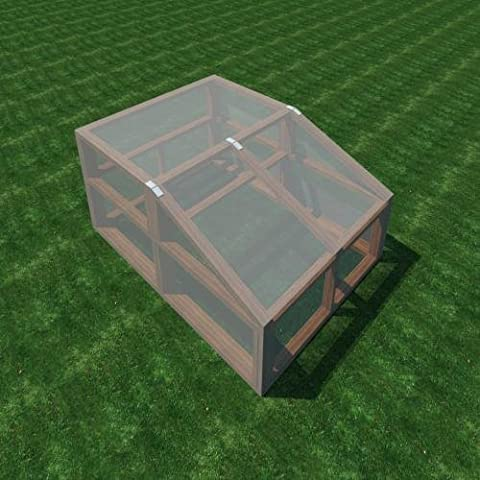 Build your own 6' X 8' Wood Framed Greenhouse (DIY Plans) Fun to build! (House Plans In Autocad)
