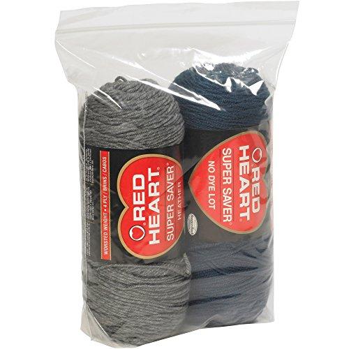 (Aviditi PB3931 Gusseted Reclosable Polyethylene Bag, 12