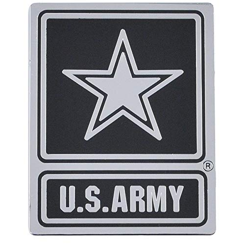 - Medals of America Army Star Logo Officially Licensed Car Emblem Multicolored