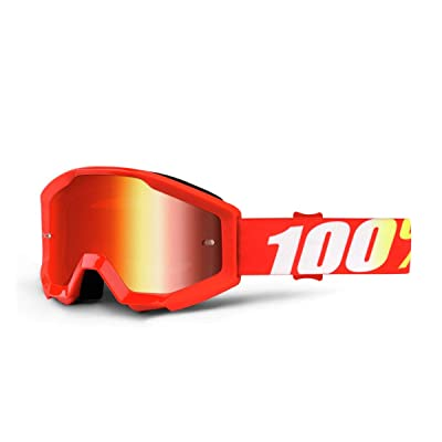 100% unisex-adult Speedlab (50510-232-02) STRATA JR Goggle Furnace-Mirror Red Lens, One Size: Automotive