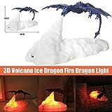 WAYAYA Fire-Breathing Dragon Light, Dragons Night