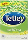 Tetley Natural Green Tea with Lemon, 72 Count by Tetley