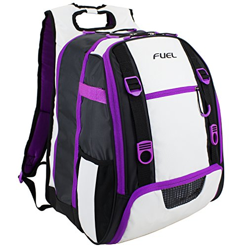 Price comparison product image Fuel All Sport Backpack,  White / Black / Purple