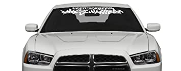 Amazoncom NEED FOR SPEED MOST WANTED Windshield X Decal - Windshield decals for trucks