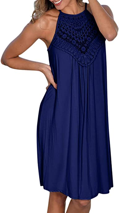 Womens Ladies Long Summer Tie Knot Chiffon Pleated Crinkle Maxi Blouse Dress UK