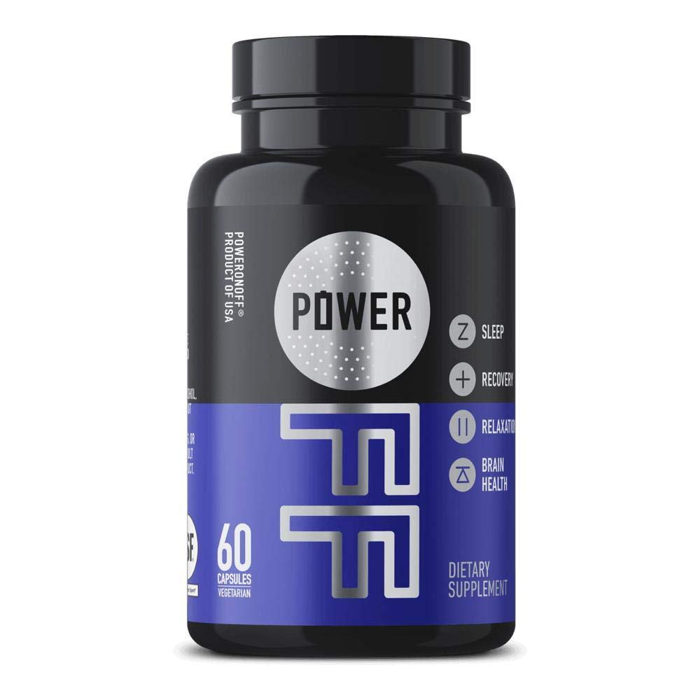 Power OFF Sleep Supplement, 60 Capsules by Power Off