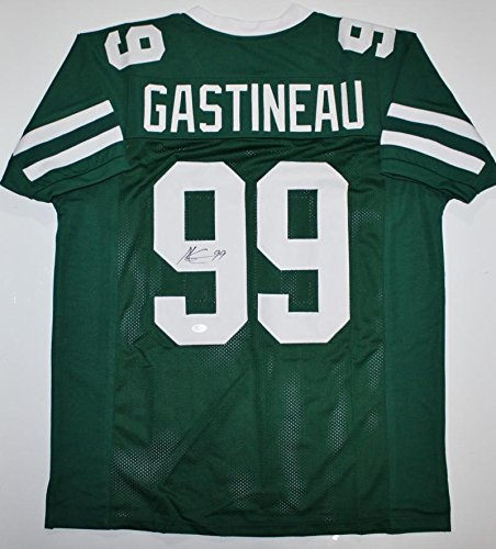 Image Unavailable. Image not available for. Color  Mark Gastineau  Autographed Jersey ... ae0a4643d