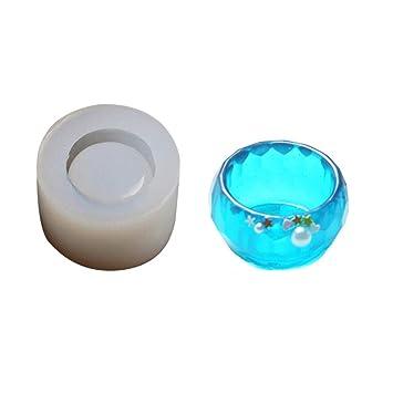 Moldes de repostería DIY silicona molde molde pequeño cuenco y platillo, pastel molde para caramelos, chupete, encaje, Chocolate, rosa: Amazon.es: Bricolaje ...