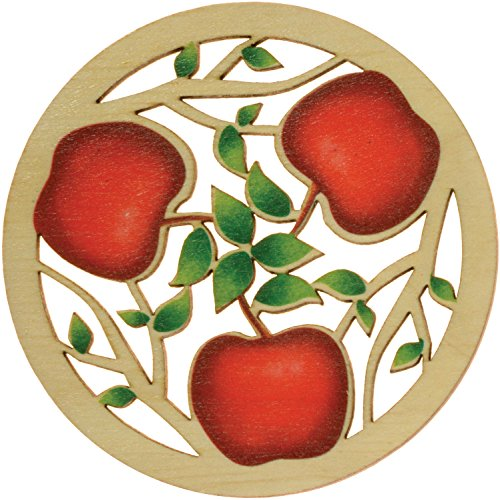 Solace Printed Apples Coaster ()