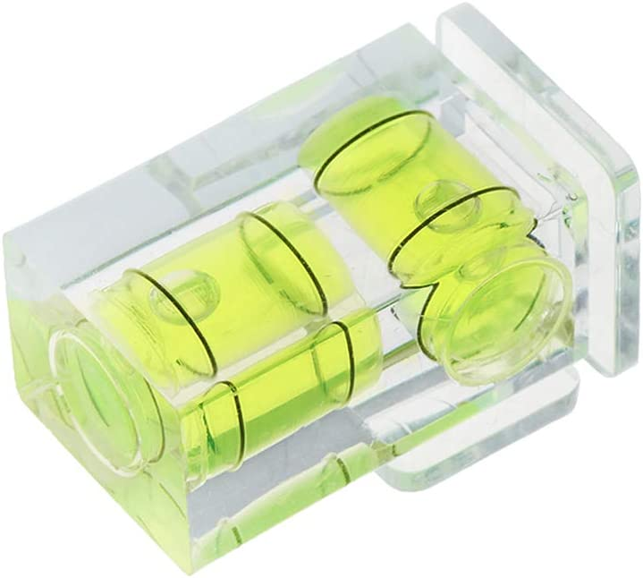 ZHIZU One//Two//Three-Dimensional Bubble Spirit Level For Camera Level Adapter For Cameras Measure Tools