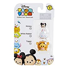 Disney Tsum Tsum 3-Pack Figures (Tigger/White Rabbit/Mickey)