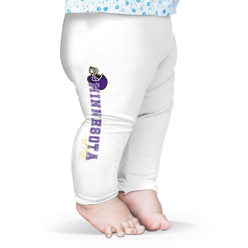 Twisted Envy Baby Leggings Minnesota American Football Established