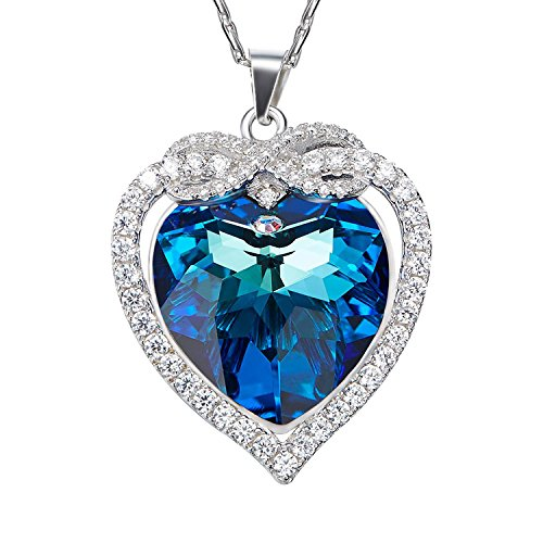 925 Sterling Silver Necklace, SILYHEART