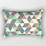 Geometry Throw Pillow Case 20 X 26 Inches / 50 By 65 Cm For Saloon Bedroom Study Room Teens Boys Shop Her With Both Sides