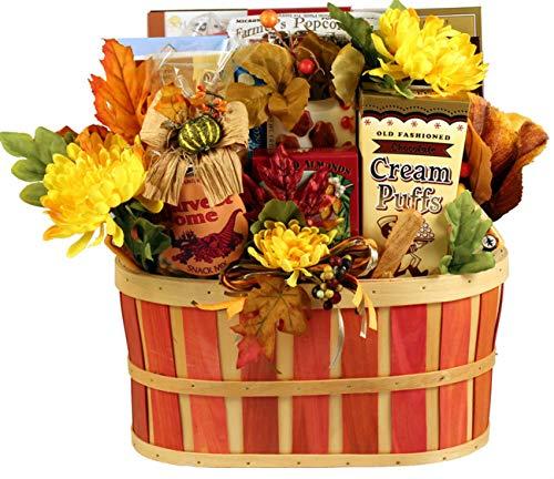 Autumn Celebration Thanksgiving Gift Basket - Size Medium ()