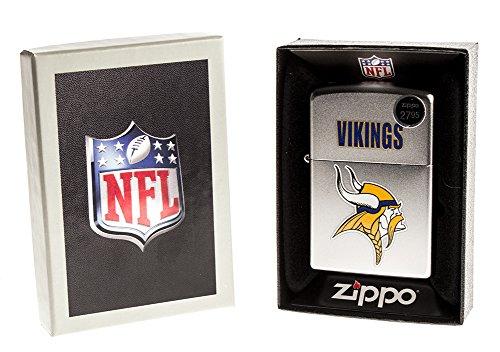 Zippo CI016663/205 Minnesota Vikings NFL Throwback Lighter