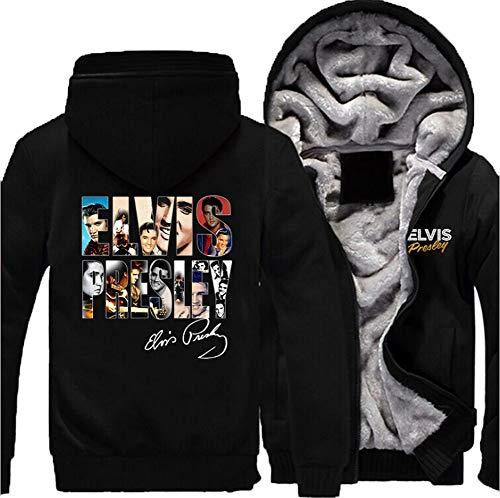 MaeFte Game Unisex Fleece Hoodie Thick Fleece Coat Jacket (XXXL, -