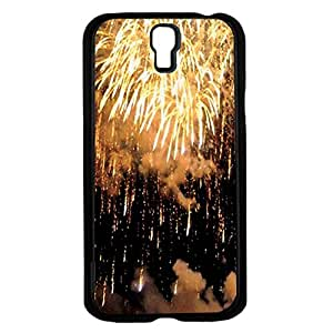 Gold Fireworks Hard Snap on Phone Case (Galaxy s4 IV) by icecream design