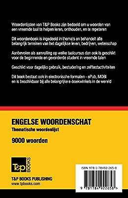 Thematische Woordenschat Nederlands Brits Engels 9000