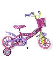 """Vélo 12"""" fille licence Minnie - 1 frein"""