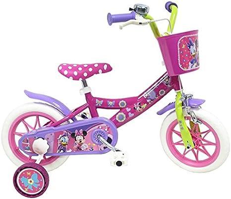 EDEN-BIKES Minie - Bicicleta Infantil, Multicolor, 12 Pulgadas ...
