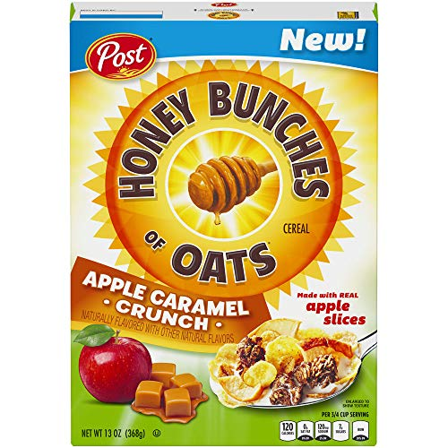 Post Honey Bunches of Oats APPLE CARAMEL CRUNCH 13 Oz. (Pack of 1) ()