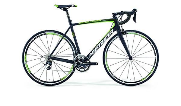 Merida Scultura 6000 - Bicicleta de carreras de carbono de 28 pulgadas (2016), 52 cm, color negro y verde: Amazon.es: Deportes y aire libre