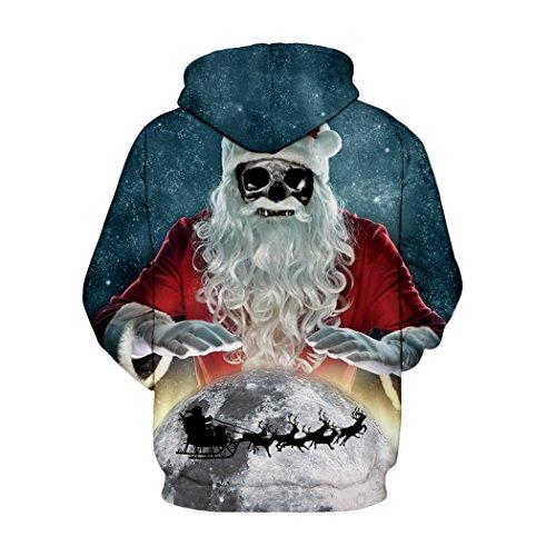 Casual Masee Digital 3d Weihnachten Unisex Hoodie Print Veni 1pc 7YqwR