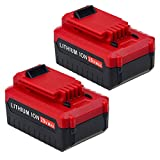 Dosctt 2 Pack 4.0Ah PCC685LP PCC680L Replace for Porter Cable 20v Battery PCC685L PCC682L Cordless Power Tool Batteries