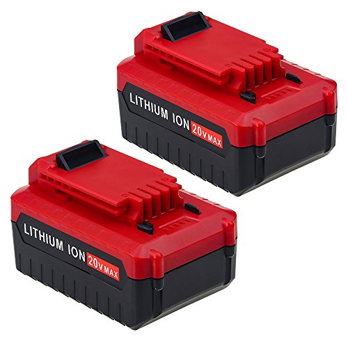 Dosctt 2 Pack 4.0Ah PCC685LP PCC680L Replace for Porter Cable 20v Lithium Battery PCC685L PCC682L Cordless Power Tool Batteries by Dosctt
