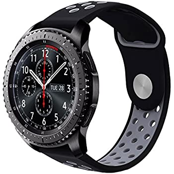 Amazon.com: Compatible with Gear S3 Frontier/Classic Bands ...