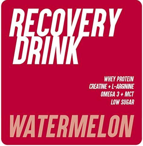 226ERS Recovery Drink, Recuperador Muscular con Proteína Whey, Creatina, Hidratos de Carbono, Triglicéridos y L-Arginina, Sandía - 500 gr