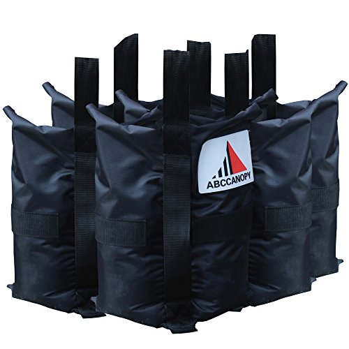 ABCCANOPY Heavy Duty Premium Instant Shelters Gazebo Weight Bags - Set of 4-40lb Capacity Per (Backyard Gazebo)