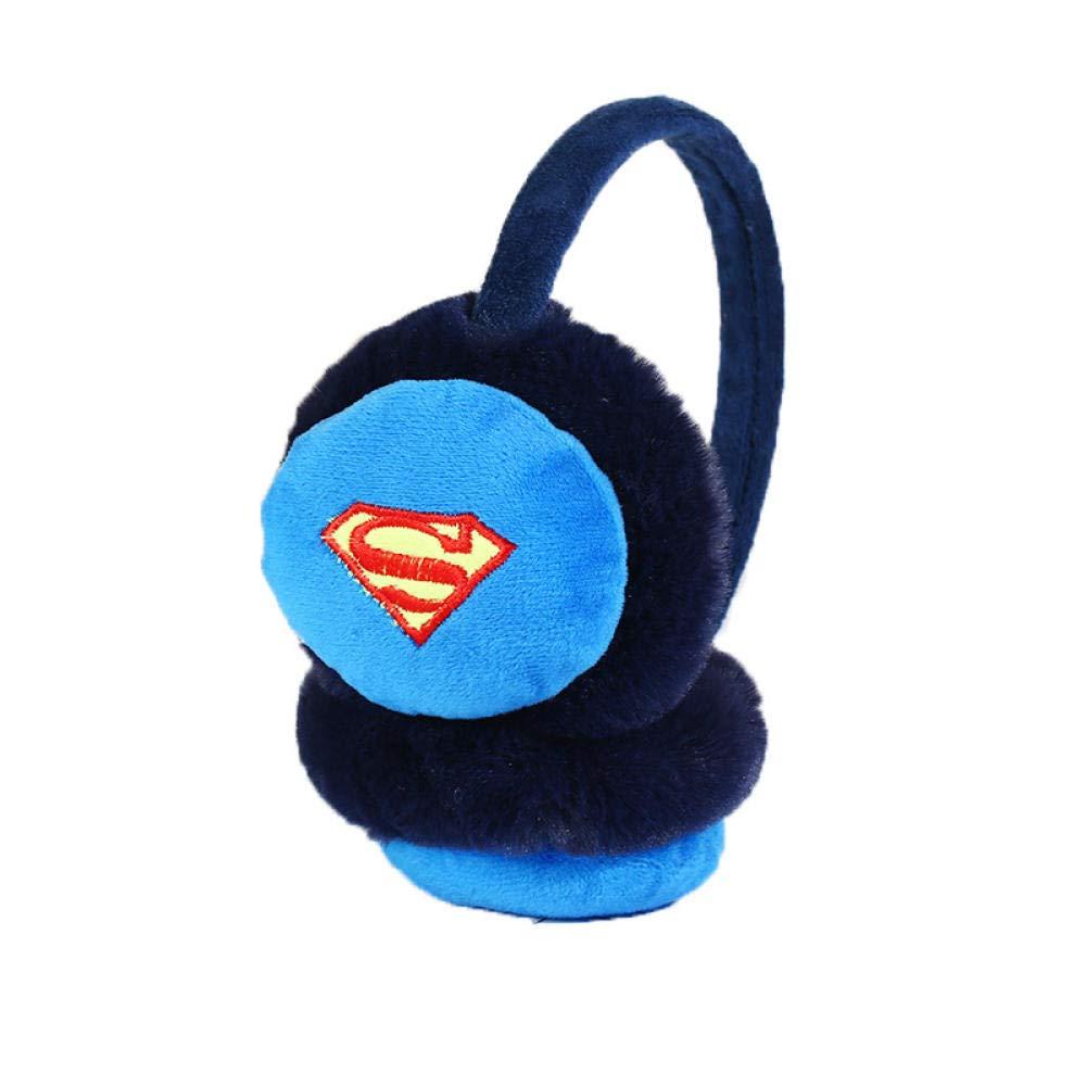 EZPJ1988 Winter Neue Ohrensch/ützer M/änner und Frauen niedlich Superman Ohr w/ärmer einstellbare Verdickung Ohrensch/ützer Ohr Tasche Student Cartoon-Batman