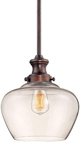 Millennium 5711-RBZ One Light Mini Pendant, Bronze Dark