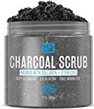 M3 Naturals Activated Charcoal Scrub Infused with