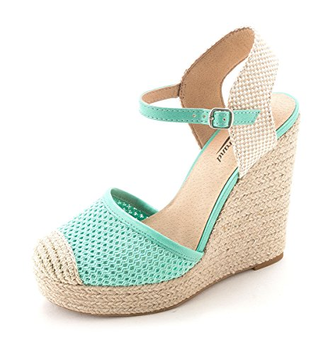 Lucky Brand - Sandalias de vestir para mujer Dusty Jade Combo