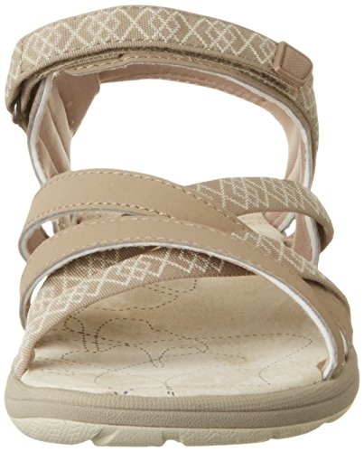 Northland Damen Mia Leather Sandals Sport-& Outdoor, Mehrfarbig (Camel/Sand), 37 EU