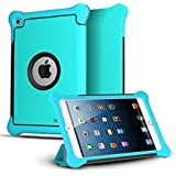 CASEFORMERS Armor Shield Cover Flip Case with Stand for iPad Mini 3, iPad Mini Retina Display and iPad Mini BLUE