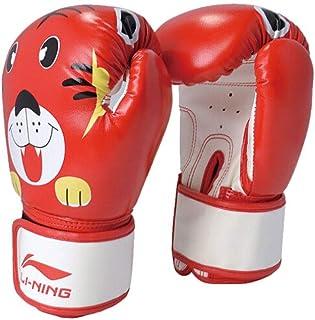 Haoyushangmao Gants de boxe pour enfants, sacs de sable pour hommes et femmes, gants de combat pour enfants Sanda Muay Thai, équipements de forme physique, gants de sac de sable, de haute qualité Le m