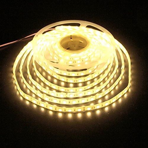 UL(E477884) strip lights,LEDMY IP62 waterproof strip lights,LedTape,led strip,strip lights DC24V 5050-300Leds strip lights, led strips for commercial and project, IP62Warm White 3000K 16.4FT/5M