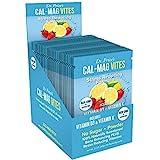 Cal-Mag Vites Calcium Magnesium Powder for Men and Women   Vitamin K, D, Mineral Supplement   Natural Calming Stress Relief D